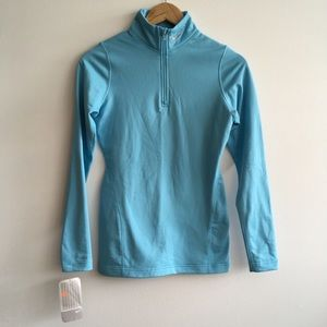 NWT Nike Dry fit running zip up